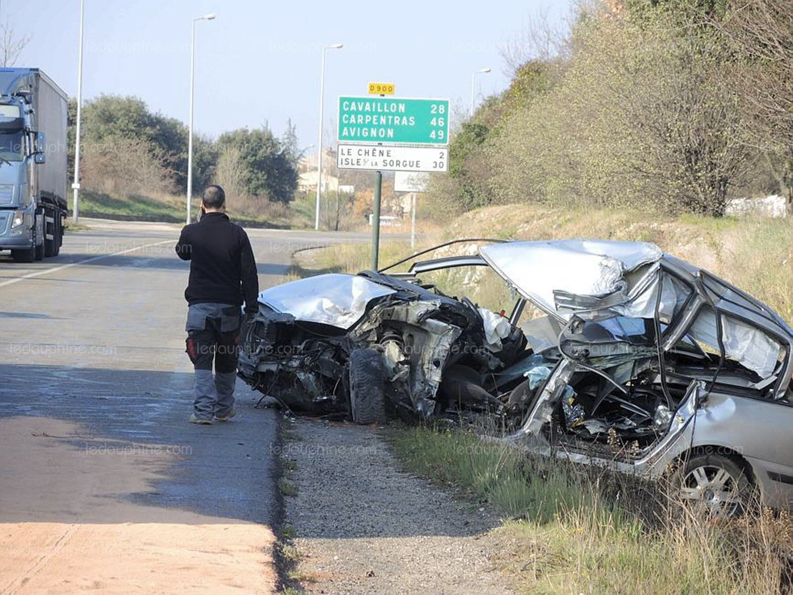 accident a vaucluse