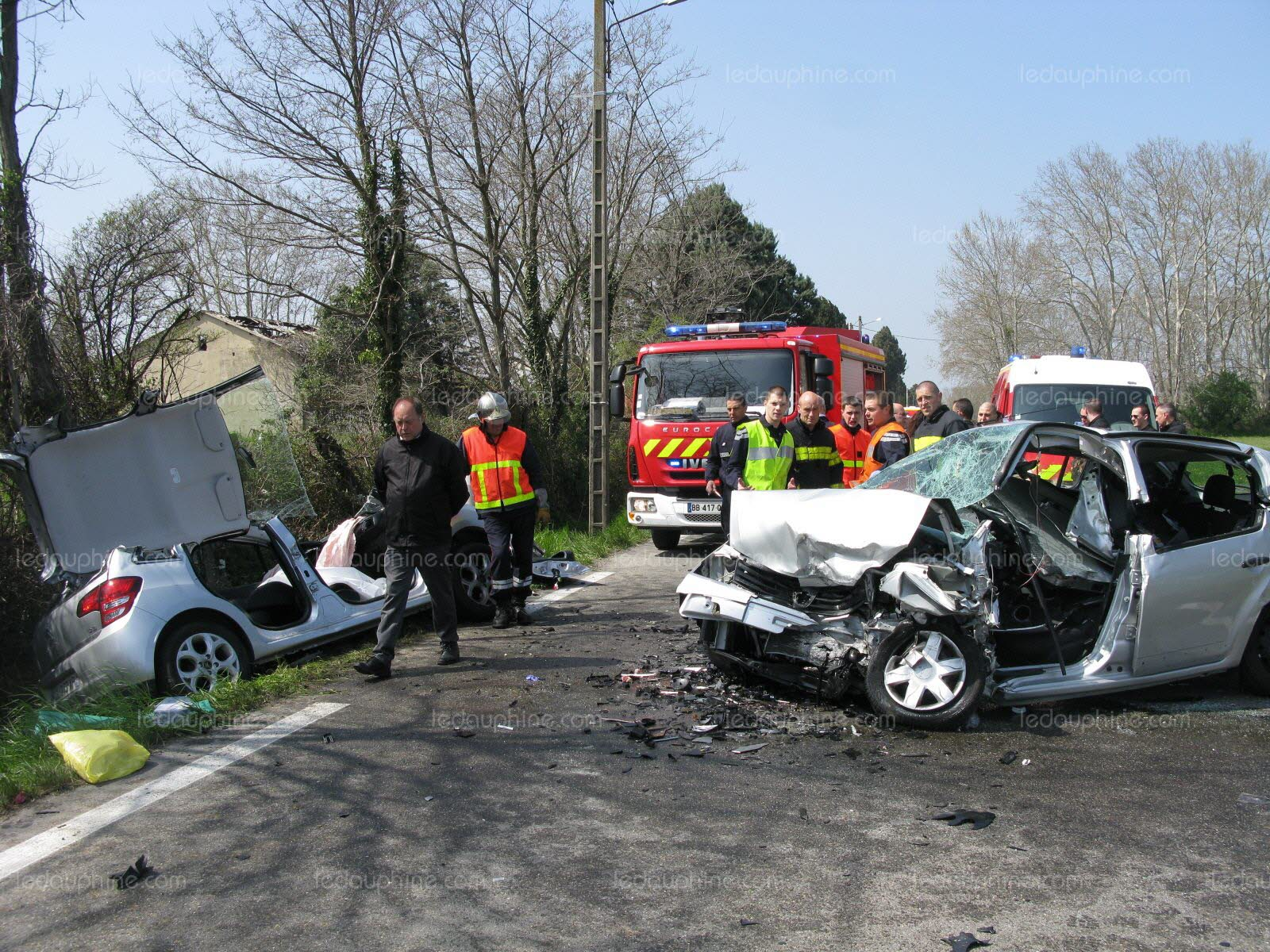 accident a vaucluse