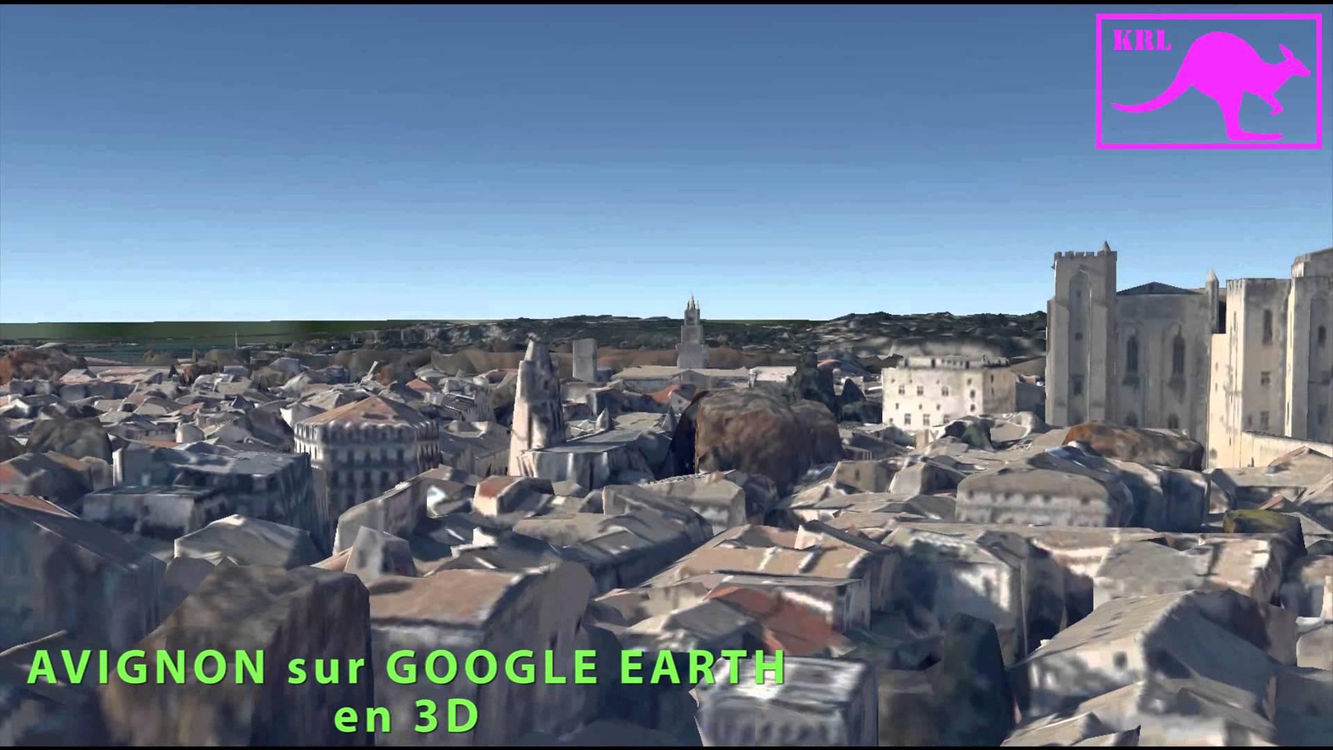 avignon 3d google