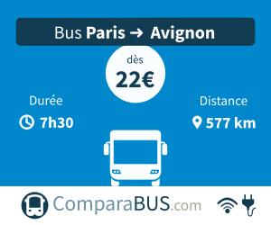 avignon paris bus