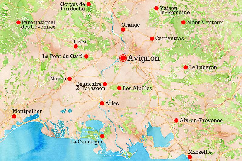 avignon region