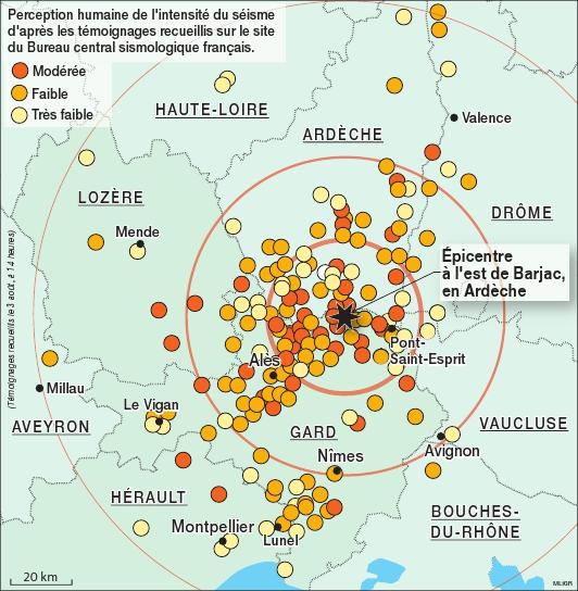 avignon zone sismique