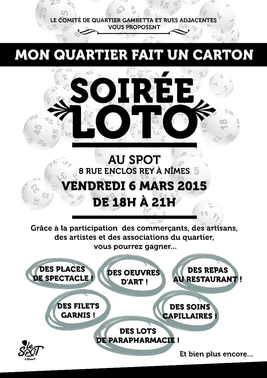 loto vaucluse 9 novembre 2014