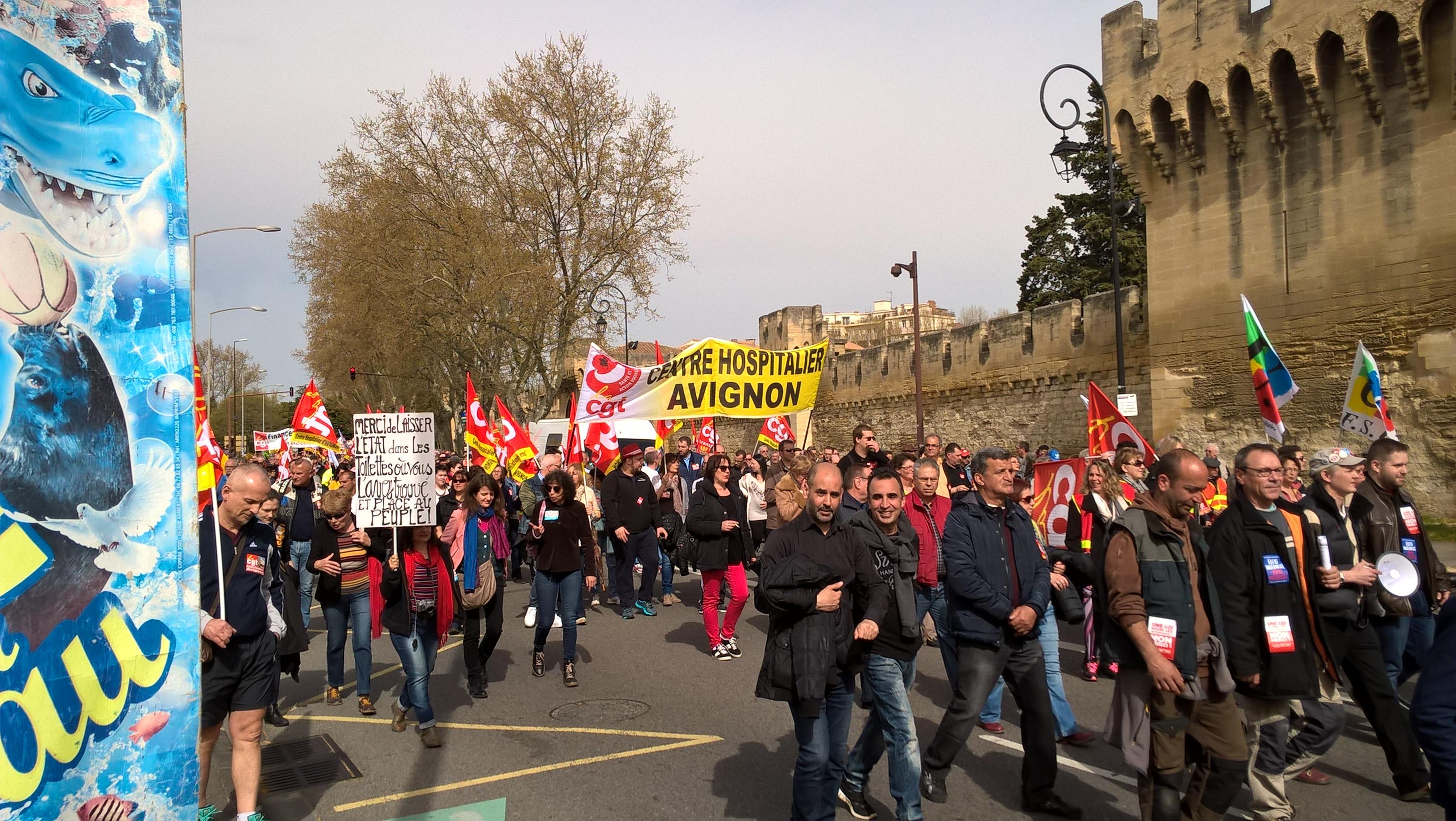 manifestation avignon 9 avril 2015
