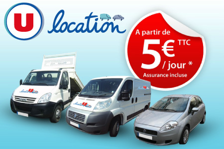 Location de voiture super u