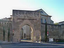 universite avignon