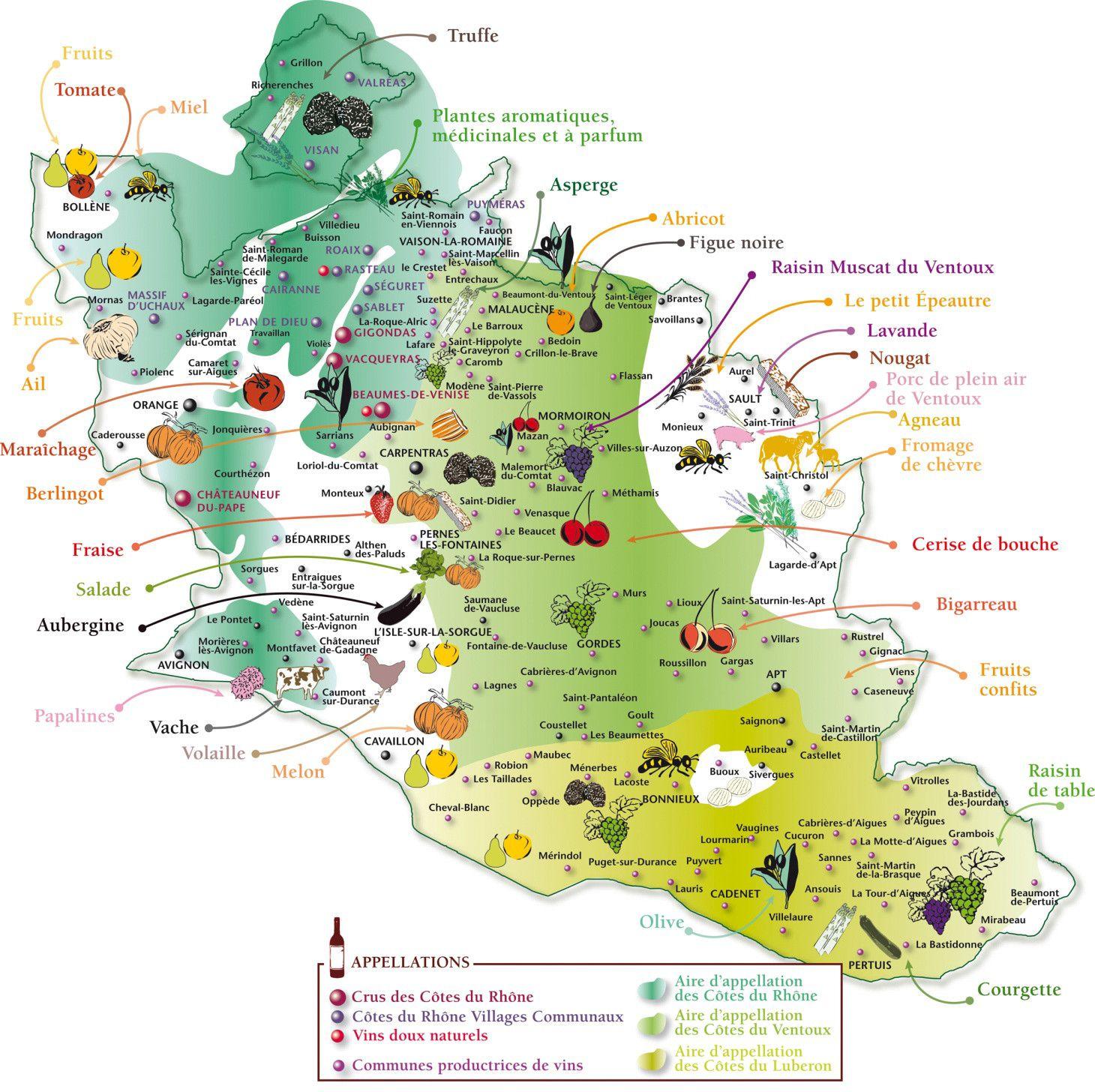 vaucluse carte touristique