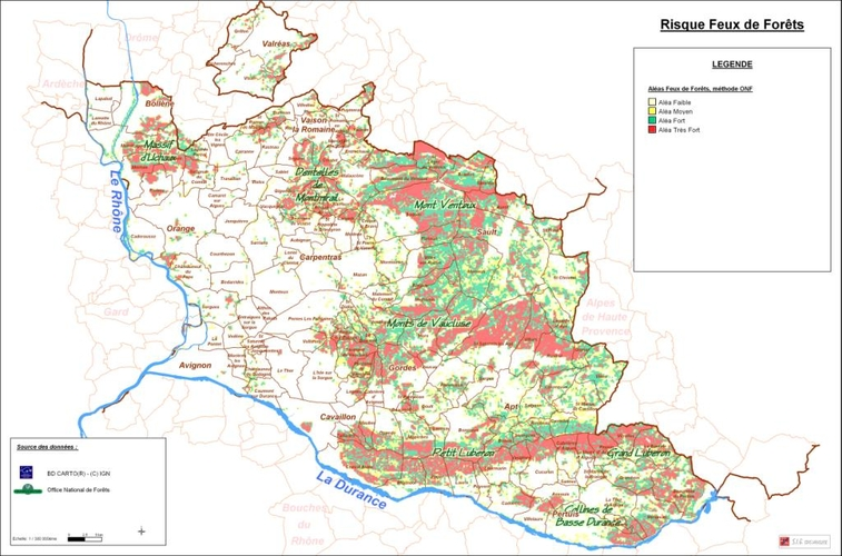 vaucluse zone inondable